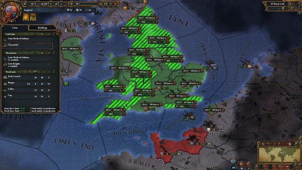 Europa Universalis IV: Pre-Order Pack on PC screenshot #4