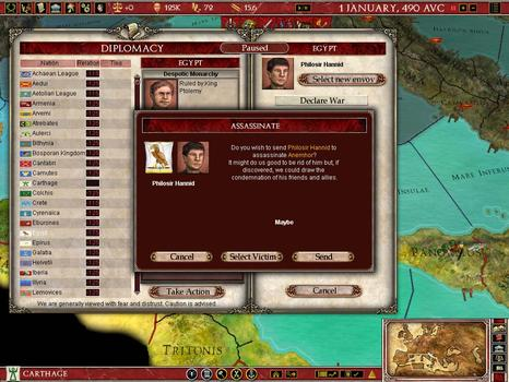 Europa Universalis: Rome Gold on PC screenshot #3