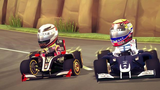 F1 Race Stars on PC screenshot #5