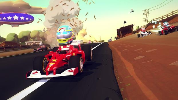 F1 Race Stars on PC screenshot #4
