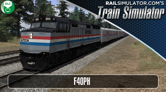 F40PH California Zephyr AddOn
