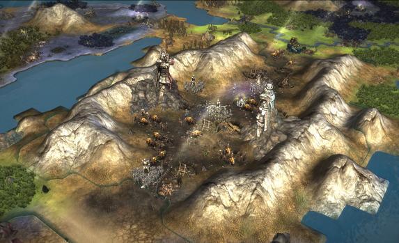 Fallen Enchantress: Legendary Heroes Map Pack on PC screenshot #1