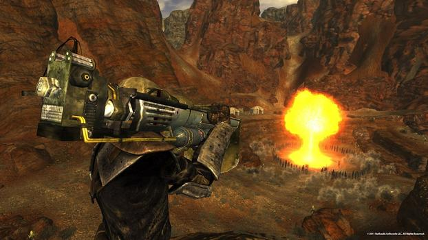 Fallout: New Vegas Gun Runners Arsenal on PC screenshot #2