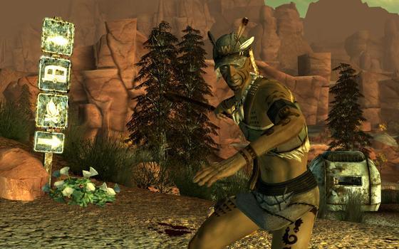 Fallout: New Vegas Honest Hearts on PC screenshot #1