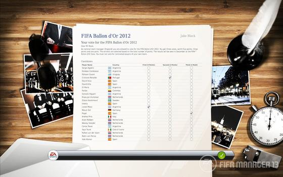 FIFA Manager 2013 (NA) on PC screenshot #3