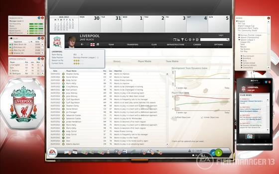 FIFA Manager 2013 (NA) on PC screenshot #1