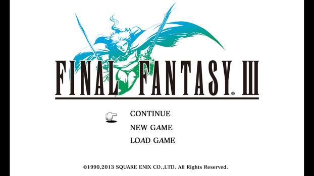 FINAL FANTASY III on PC screenshot #5