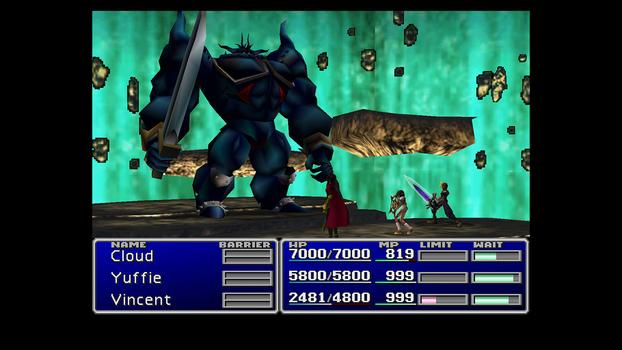 FINAL FANTASY VII on PC screenshot #1