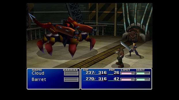 FINAL FANTASY VII on PC screenshot #7
