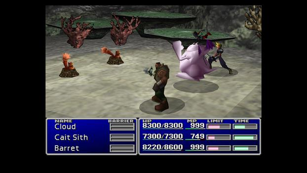 FINAL FANTASY VII on PC screenshot #6