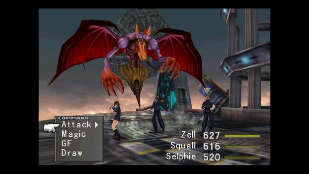 FINAL FANTASY VIII on PC screenshot #3