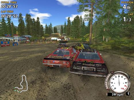 FlatOut on PC screenshot #4