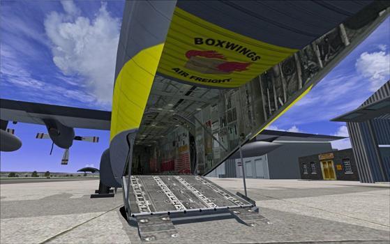 Flight Simulator X: Air Hauler on PC screenshot #1