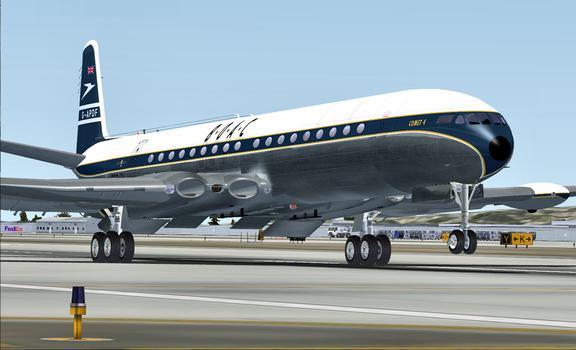 Flight Simulator X: Comet Jetliner on PC screenshot #2