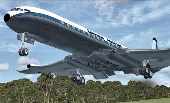 Flight Simulator X: Comet Jetliner on PC screenshot #1