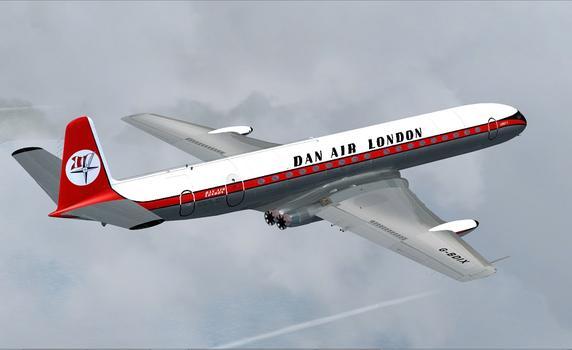 Flight Simulator X: Comet Jetliner on PC screenshot #3