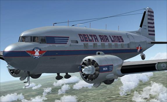 Flight Simulator X: DC-6B Legends of Flight on PC screenshot #3