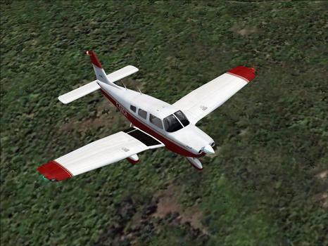 Flight Simulator X: Flying Club Archer III on PC screenshot #1