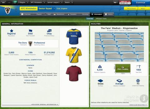 Football Manager 2013 on PC screenshot #1