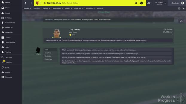 Football Manager 2015 on PC screenshot #8