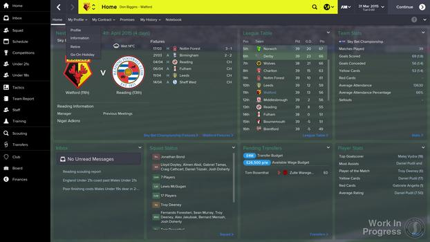 Football Manager 2015 on PC screenshot #5
