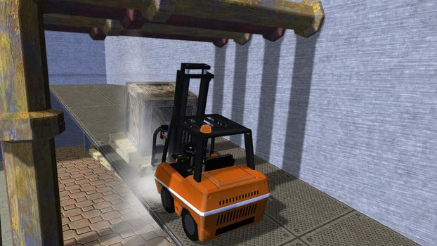 Forklift Truck - The Simulation on PC screenshot #6