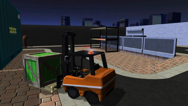 Forklift Truck - The Simulation on PC screenshot #5
