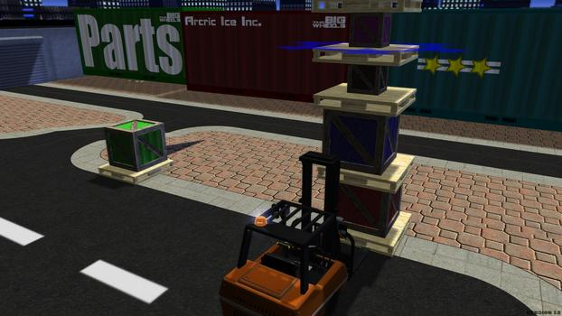 Forklift Truck - The Simulation on PC screenshot #3