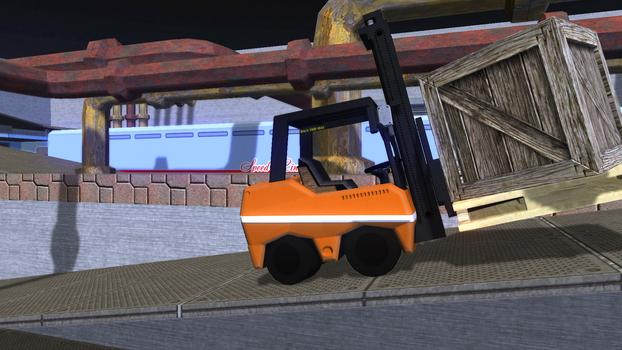 Forklift Truck - The Simulation on PC screenshot #1