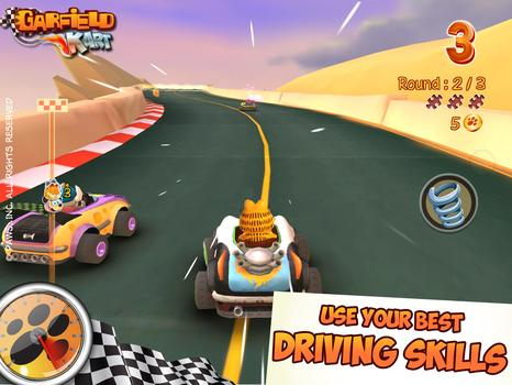 Garfield Kart  on PC screenshot #3