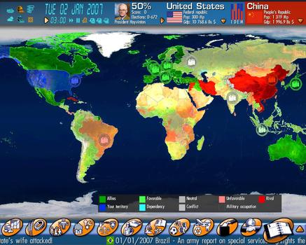 Geopolitical Simulator 2009 on PC screenshot #5