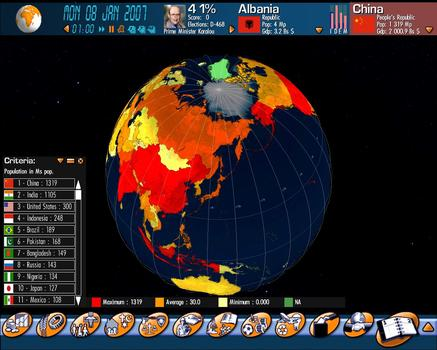 Geopolitical Simulator 2009 on PC screenshot #2