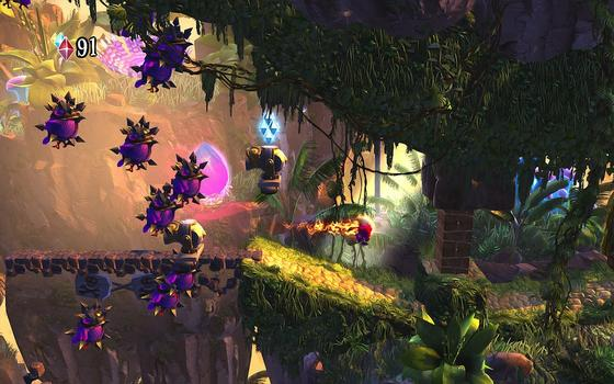 Giana Sisters: Twisted Dreams – Rise of the Owlverlord on PC screenshot #1