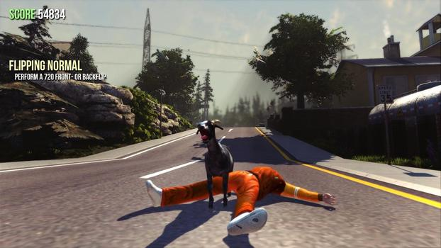 Goat Simulator on PC screenshot #1