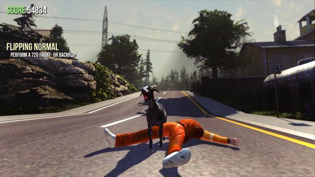 Goat Simulator on PC screenshot #1