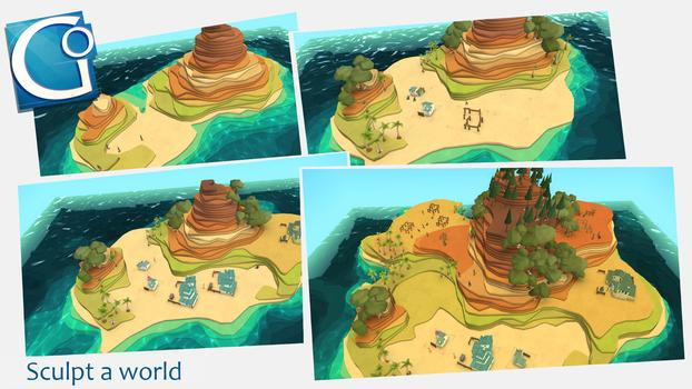 Godus on PC screenshot #1