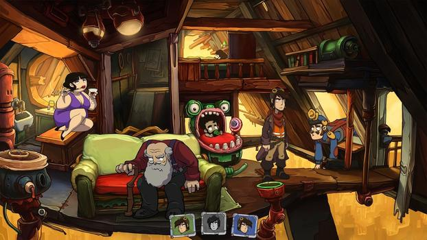 Goodbye Deponia Premium Edition on PC screenshot #3