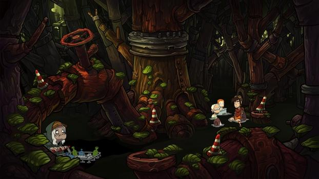 Goodbye Deponia on PC screenshot #2