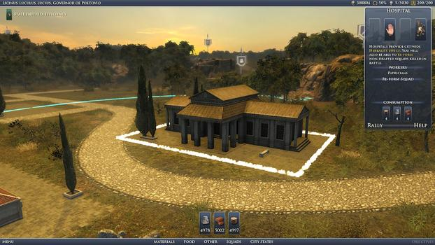 Grand Ages: Rome Gold Edition on PC screenshot #3