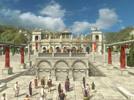 Grand Ages: Rome on PC screenshot #1