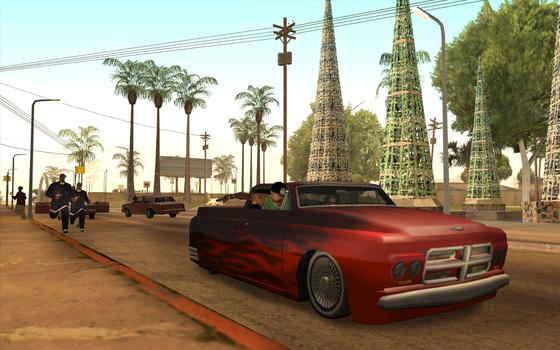 Grand Theft Auto: San Andreas on PC screenshot #3