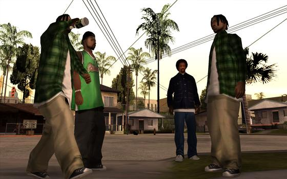 Grand Theft Auto: San Andreas on PC screenshot #2