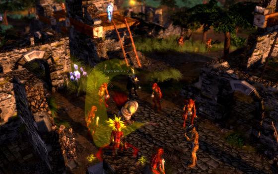 Grotesque Tactics: Evil Heroes on PC screenshot #8