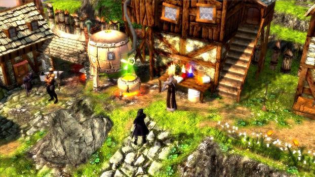 Grotesque Tactics: Evil Heroes on PC screenshot #4