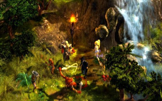 Grotesque Tactics: Evil Heroes on PC screenshot #3