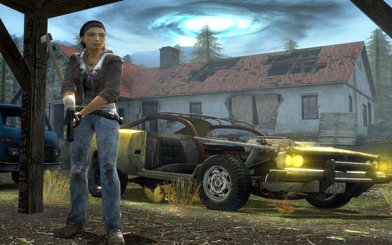Half Life 2: Episode 2 on PC screenshot #4