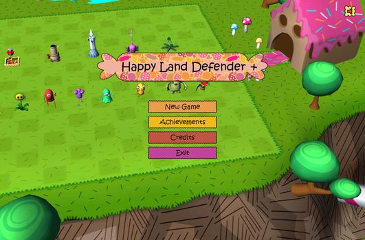 Happy Land Defender+ on PC screenshot #1