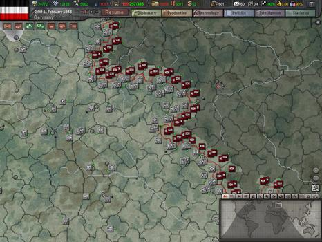 Hearts of Iron III: Collection on PC screenshot #1