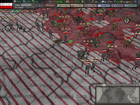 Hearts of Iron III: Collection on PC screenshot #5
