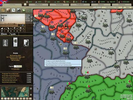 Hearts of Iron II: Complete on PC screenshot #4